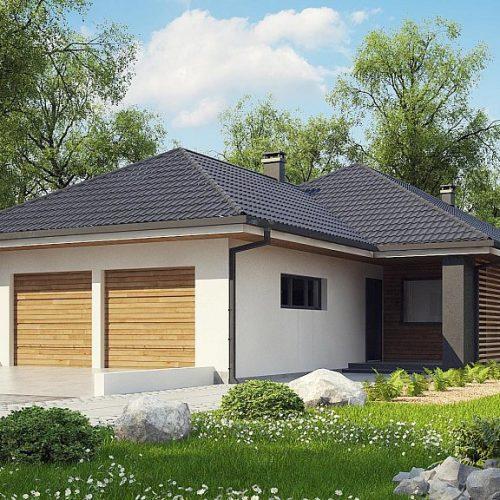 Фото проекта дома Z327 вид с улицы