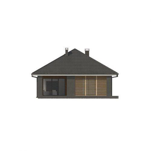 Фасад дома Z327 3