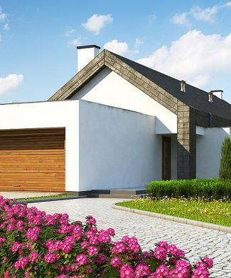 Фото проекта дома Z330 вид с улицы