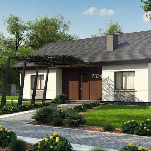 Фото проекта дома Z334 вид 2