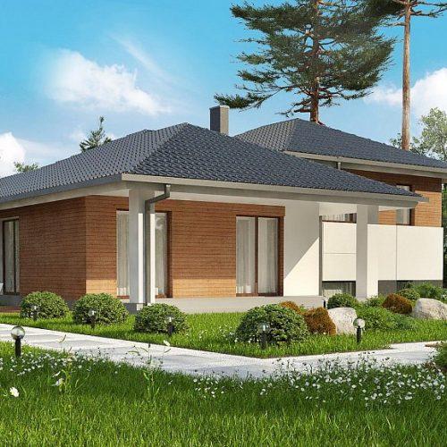 Фото проекта дома Z335 вид 2