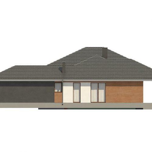 Фасад дома Z335 4