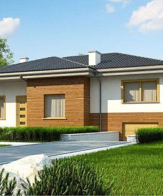 Фото проекта дома Z337 вид с улицы