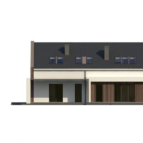 Фасад дома Z346 3