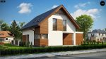 Фото проекта дома Z350 вид с улицы