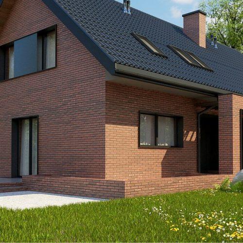 Фото проекта дома Z351 вид 2