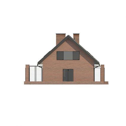 Фасад дома Z351 2