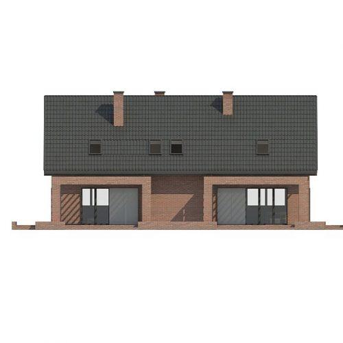Фасад дома Z351 3