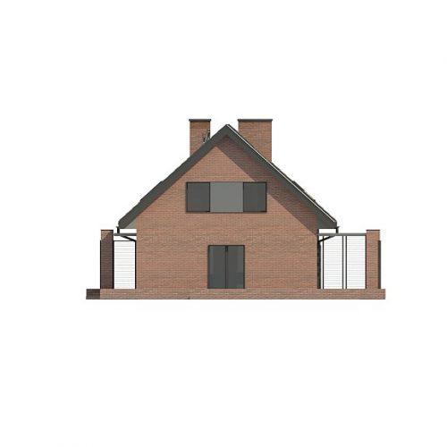 Фасад дома Z351 4