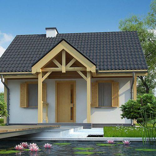 Фото проекта дома Z352 вид 2