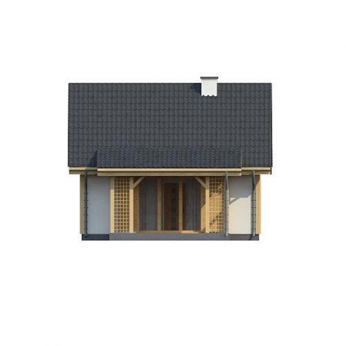 Фасад дома Z352 3