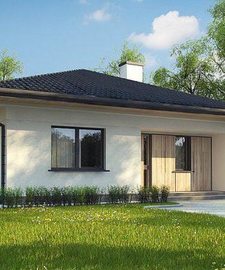 Фото проекта дома Z354 вид с улицы