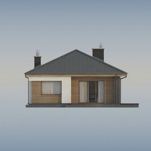 Фасад дома Z356 3