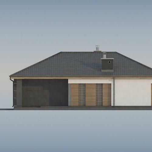 Фасад дома Z356 4