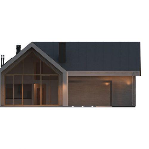 Фасад дома Z357 3