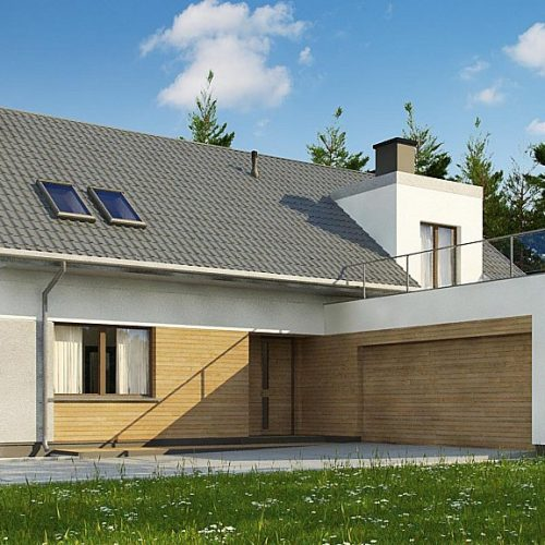 Фото проекта дома Z358 вид 2
