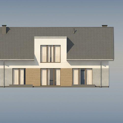 Фасад дома Z358 2