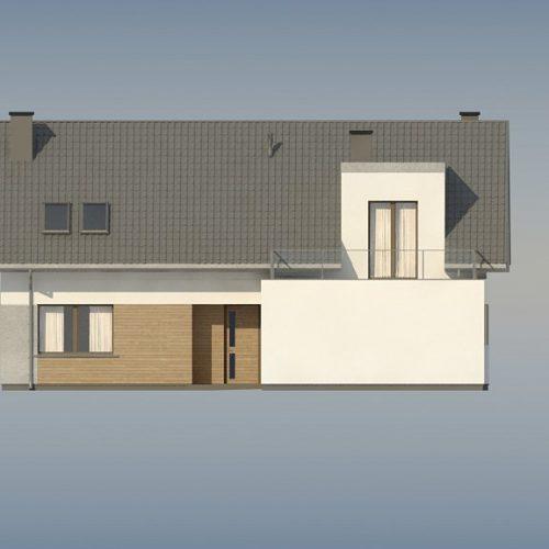 Фасад дома Z358 4