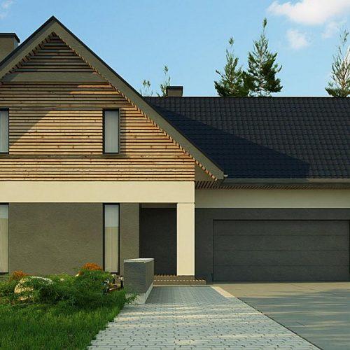 Фото проекта дома Z359 вид 2