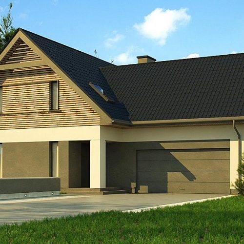 Фото проекта дома Z359 вид с улицы