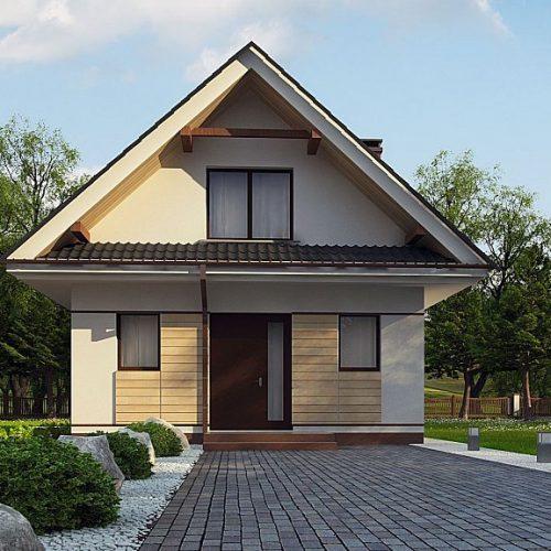Фото проекта дома Z362 вид 2