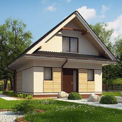 Фото проекта дома Z362 вид с улицы