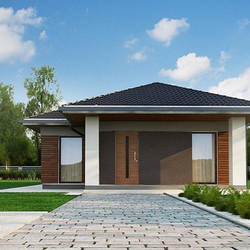 Фото проекта дома Z366 вид 2