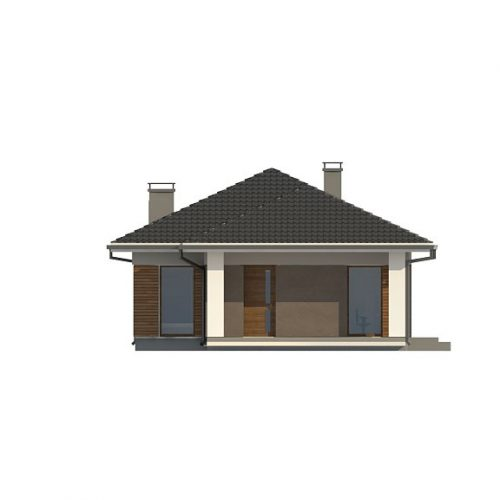 Фасад дома Z366 1