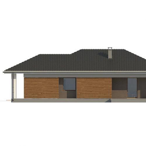 Фасад дома Z366 4