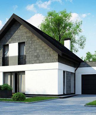 Фото проекта дома Z371 вид с улицы