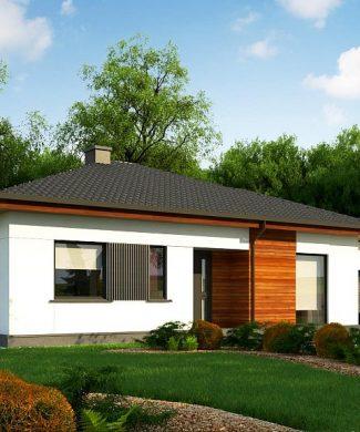 Фото проекта дома Z375 вид с улицы
