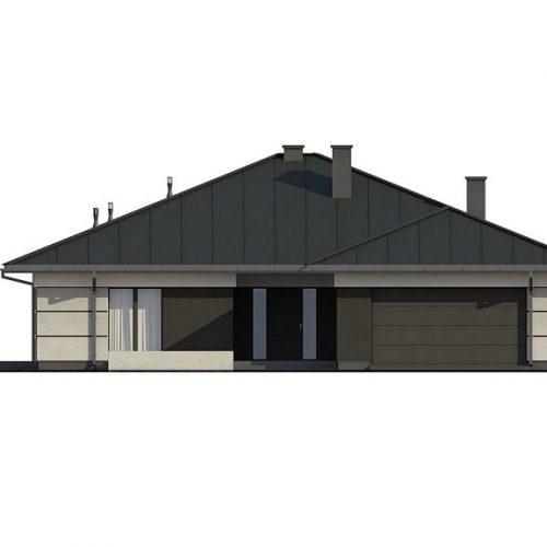 Фасад дома Z378 1