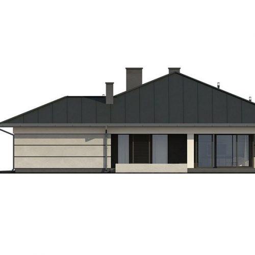Фасад дома Z378 2