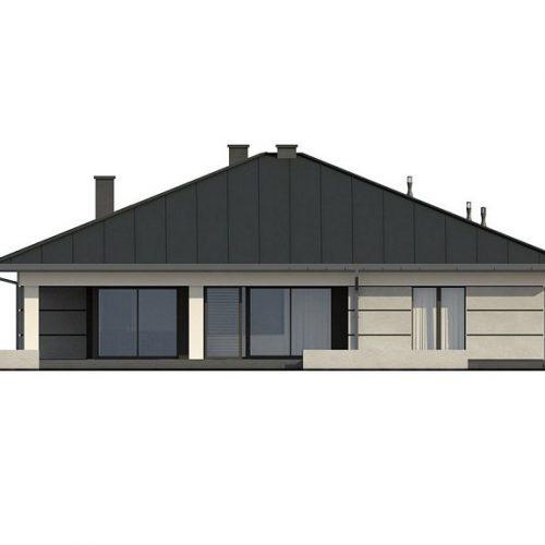 Фасад дома Z378 4