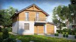 Фото проекта дома Z38 D GP вид с улицы