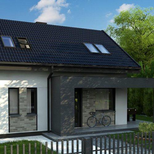 Фото проекта дома Z382 вид 2