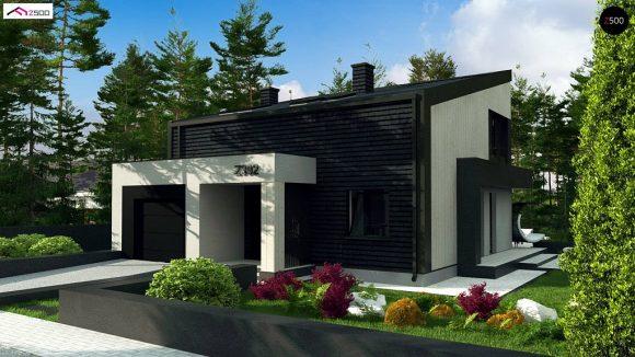 Фото проекта дома Z392 вид с улицы