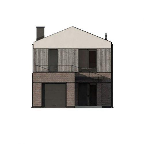 Фасад дома Z398 1