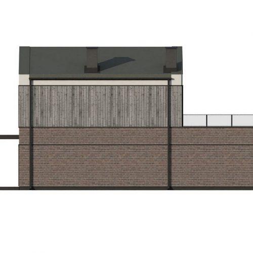 Фасад дома Z398 3