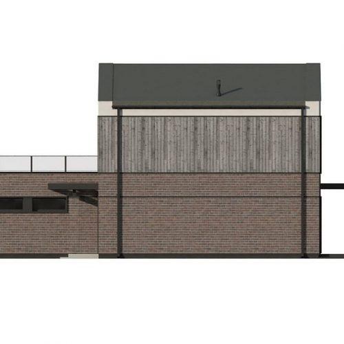 Фасад дома Z398 4