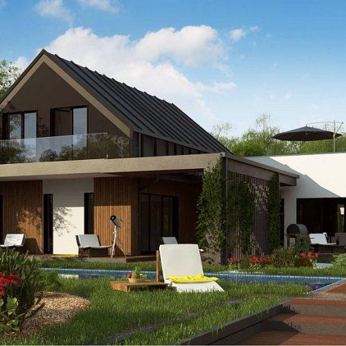 Фото проекта дома Z453 вид 2