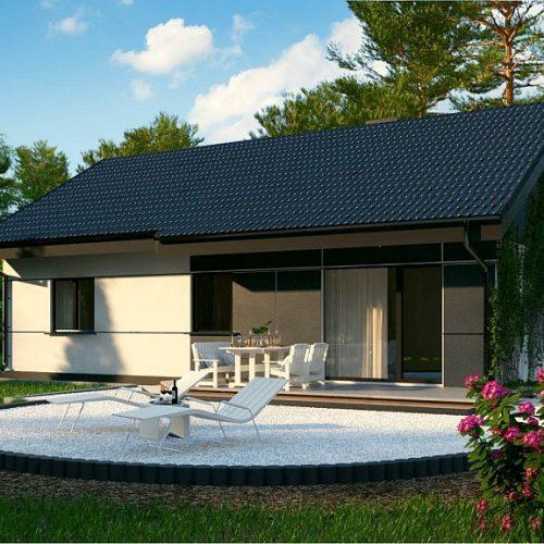 Фото проекта дома Z454 Real Green вид 2