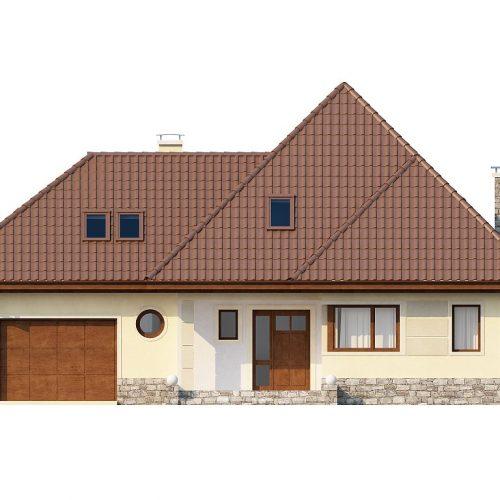Фасад дома Z48 1