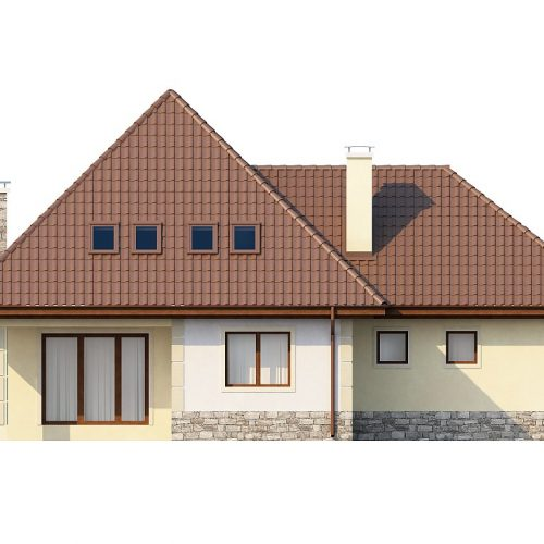 Фасад дома Z48 2