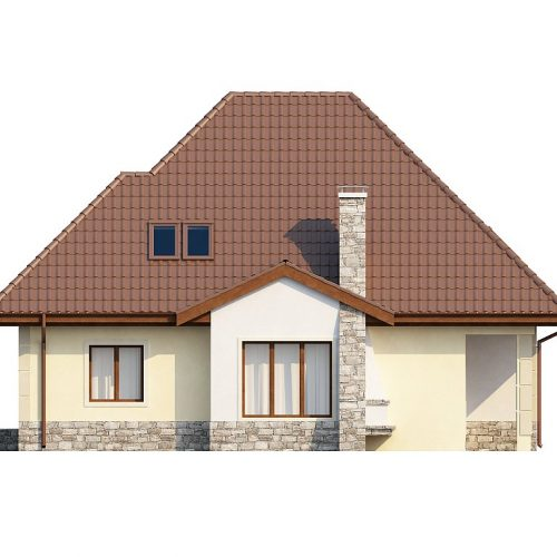 Фасад дома Z48 3
