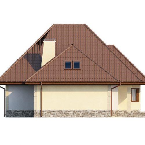 Фасад дома Z48 4