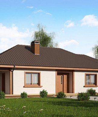 Фото проекта дома Z55 GP вид с улицы