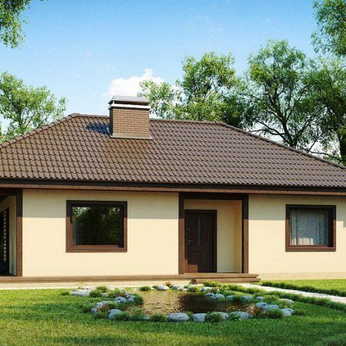 Фото проекта дома Z55 dk вид 2