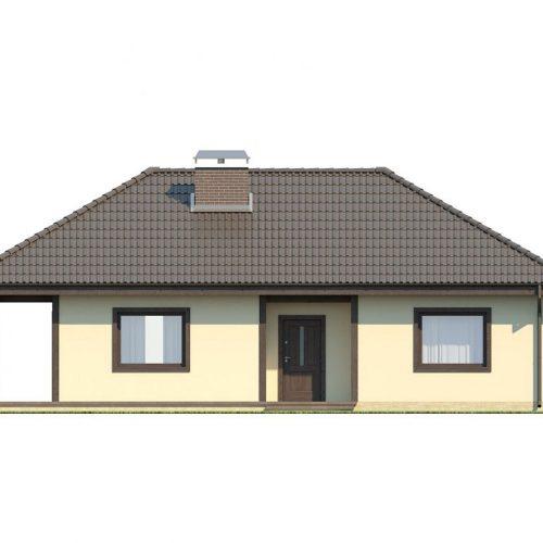 Фасад дома Z55 dk 1