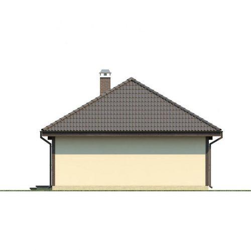 Фасад дома Z55 dk 4
